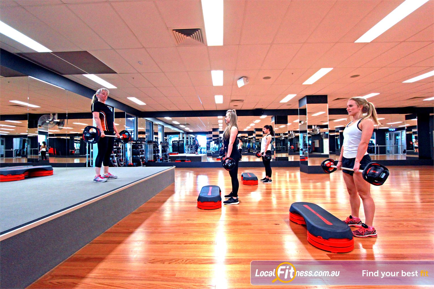 South Pacific Health Clubs Near Parkdale Over 100 classes per week inc. Les Mills, Boxing, Bootcamp and more.