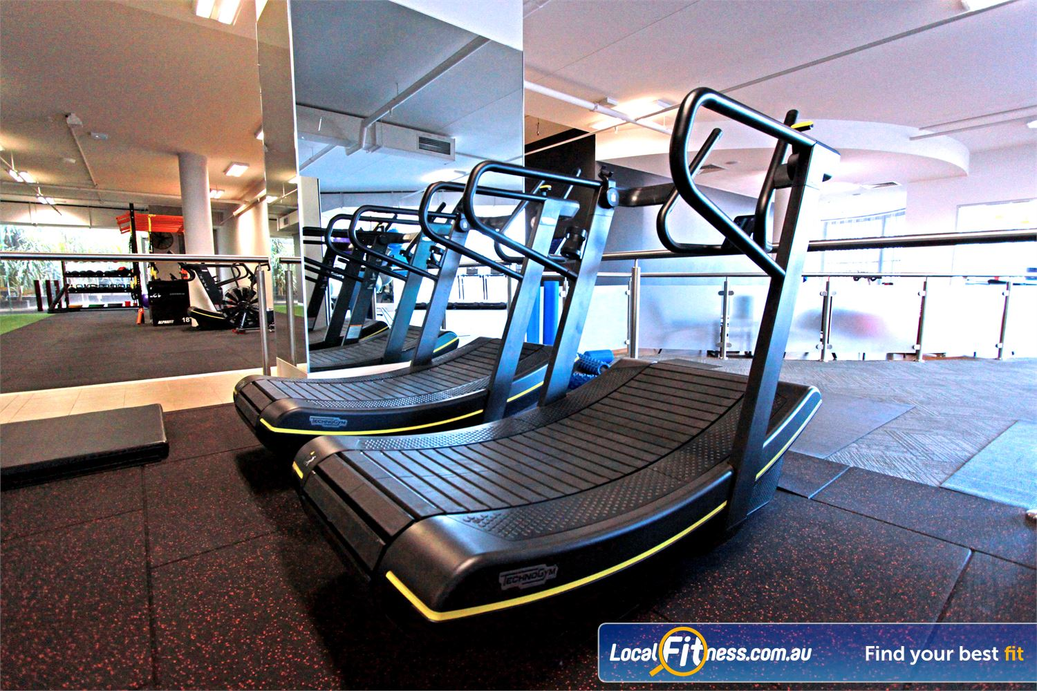 South Pacific Health Clubs Near Heatherton Our Mentone gym features the revolutionary skillmill.