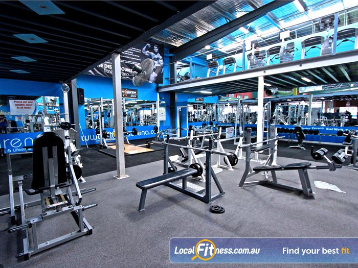 Fitness Arena Roxburgh Park Coolaroo Gym Fitness Fully equipped with benches,
