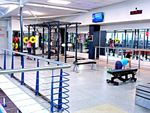 The fully equipped free-weights area in our Lutwyche