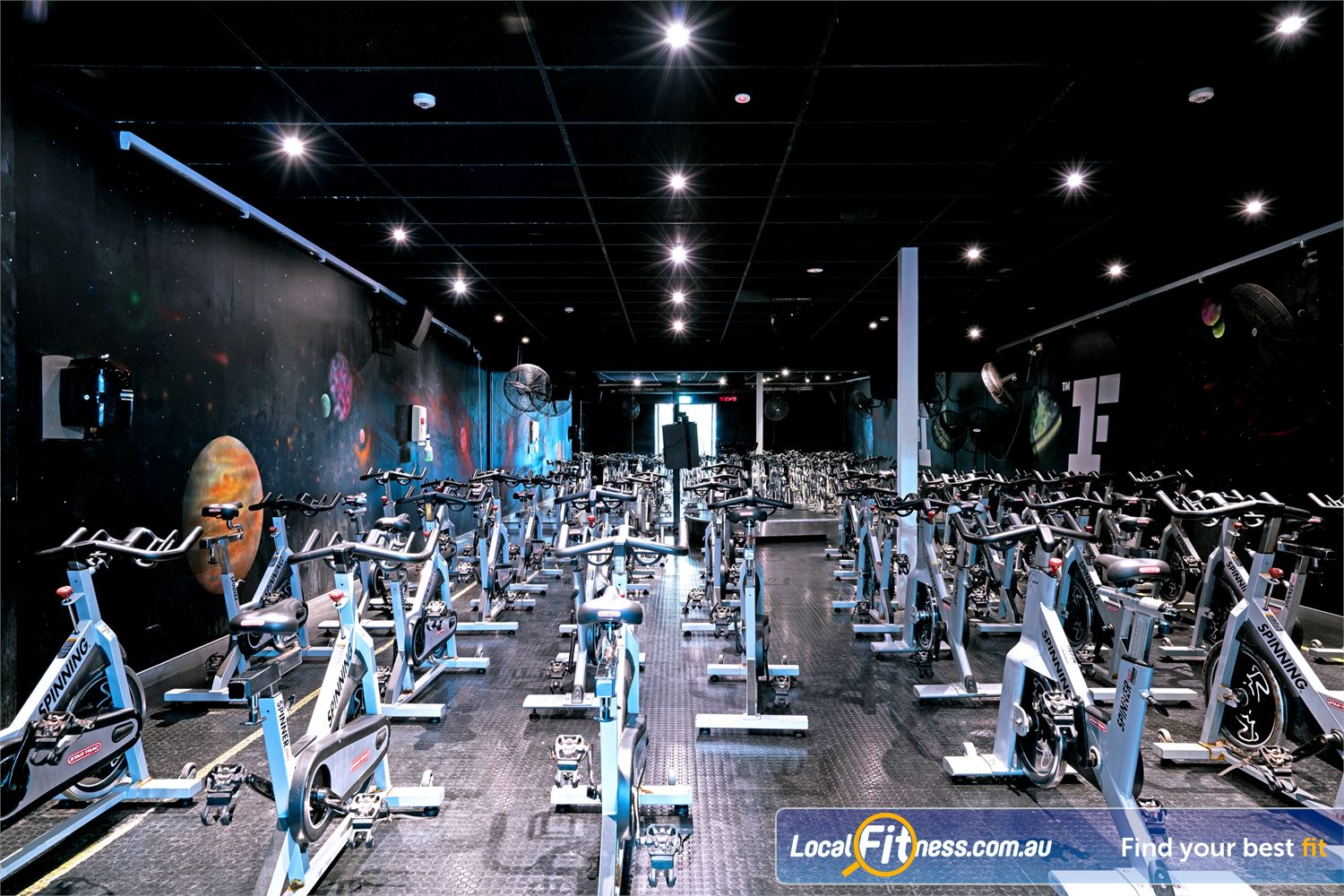 Fitness First Lutwyche Our dedicated Lutwyche spin cycle studio.