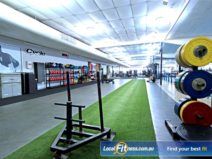 Fitness First HIIT Brisbane  | The functional freestyle area with grass running/sled track.