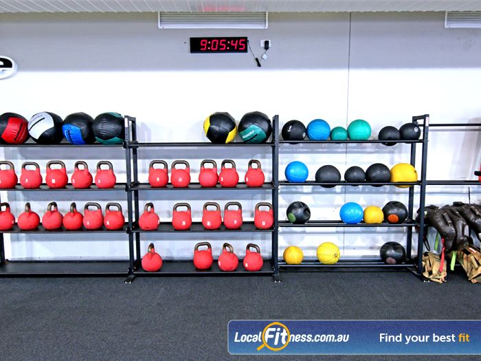 Fitness First HIIT Brisbane  | Innovative equipment perfect for freestyle and functional training.