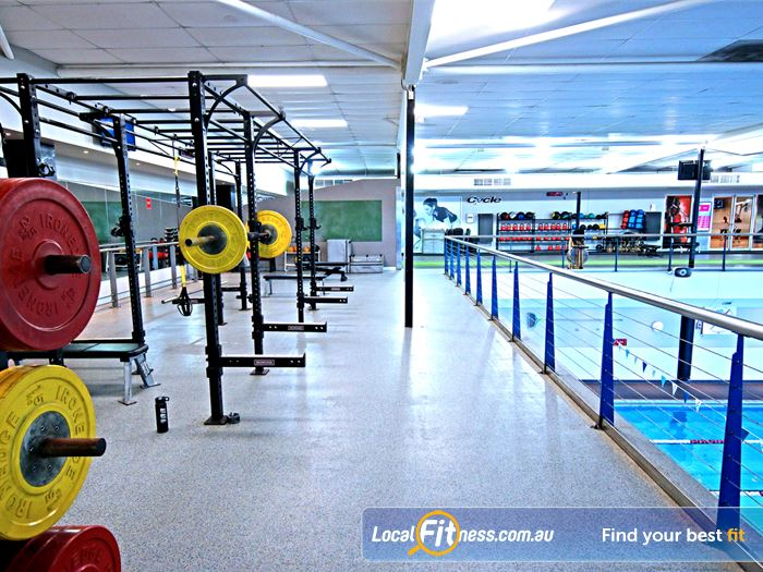 Fitness First HIIT Brisbane  | The spacious functional freestyle area with functional training