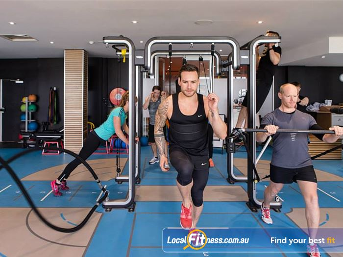 South Pacific Health Clubs HIIT Melbourne  | Get into St Kilda HIIT and functional training