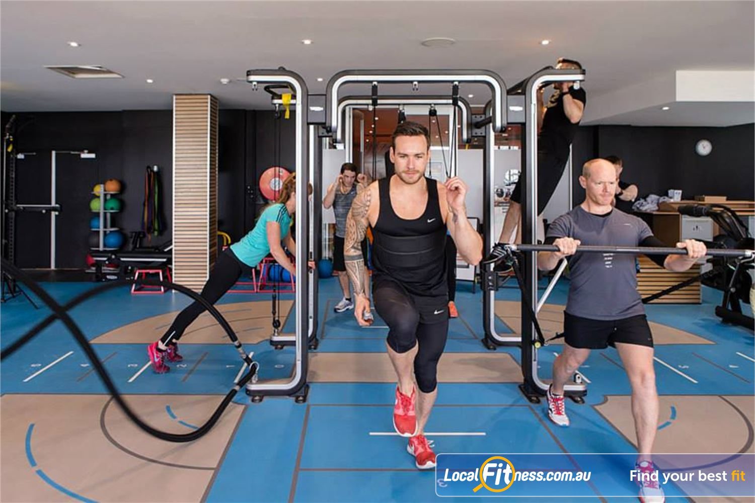 South Pacific Health Clubs Near St Kilda East Try one of our many St Kilda HIIT classes.
