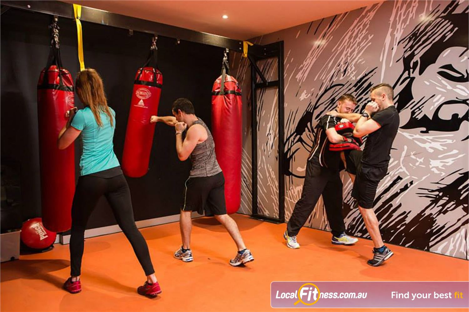South Pacific Health Clubs Near Elwood The dedicated St Kilda boxing area. Try a class today.