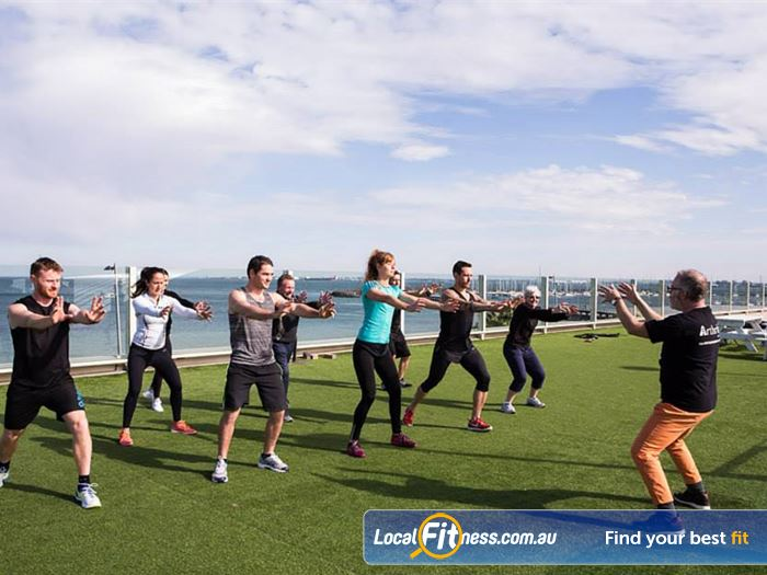 South Pacific Health Clubs St Kilda East Gym Fitness Take advantage of the beautiful