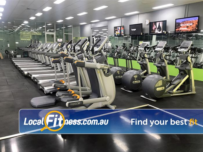 ENRG Fitness 24/7 Gym Monbulk  | Over 100 cardio pieces in our Kilsyth gym.