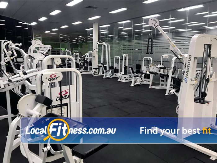 ENRG Fitness 24/7 Kilsyth Our Kilsyth gym includes a circuit area for a quick workout.