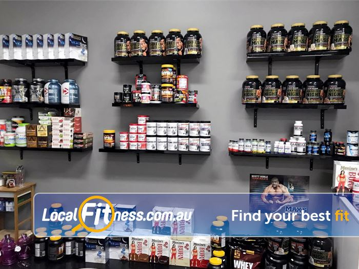 ENRG Fitness 24/7 Near Mooroolbark On-site supplement shop with a large selection and great prices.
