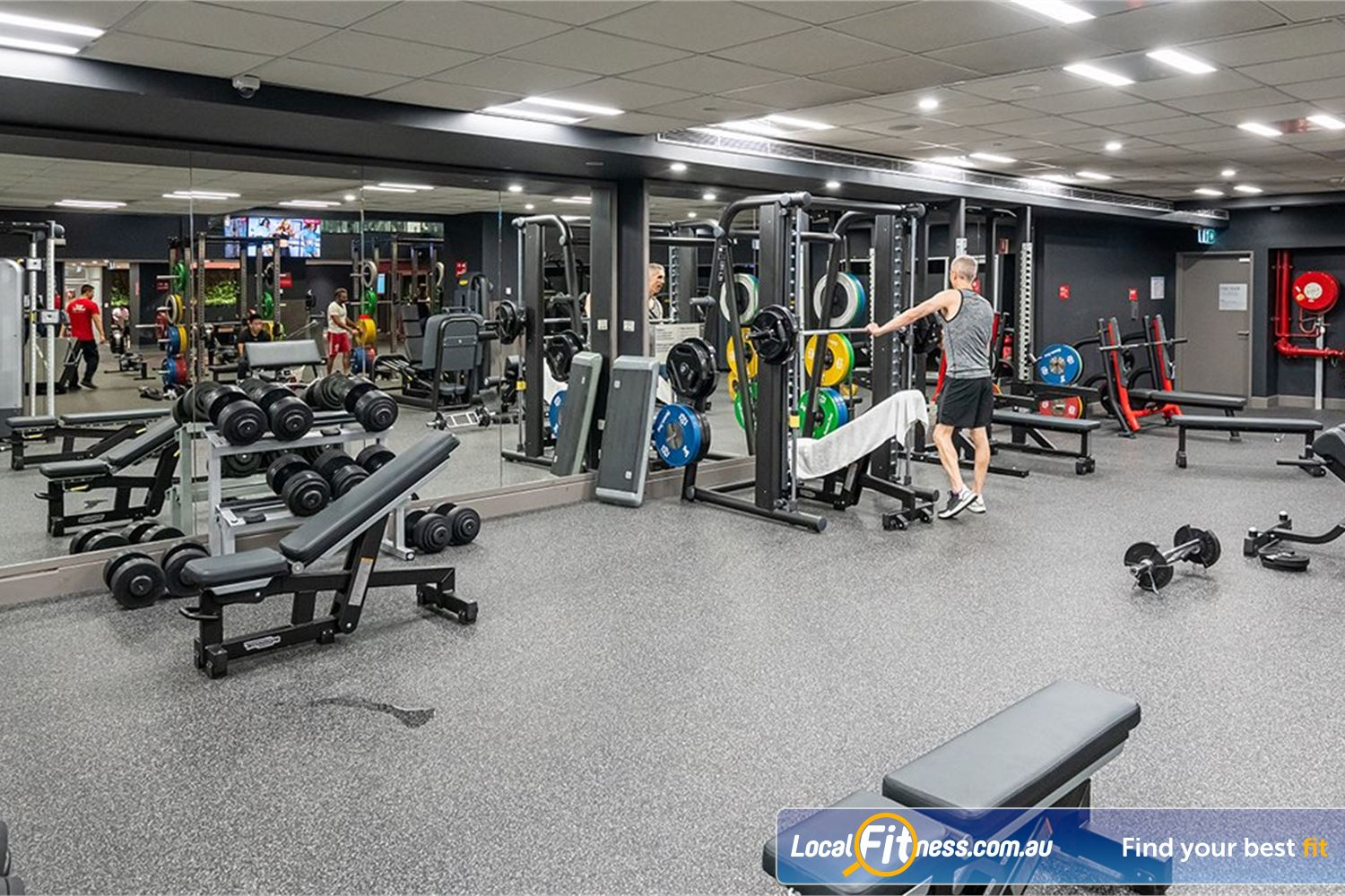 Fitness First Platinum Pitt St Near Alexandria Mc Our Sydney gym provides a state of the art strength training facility.