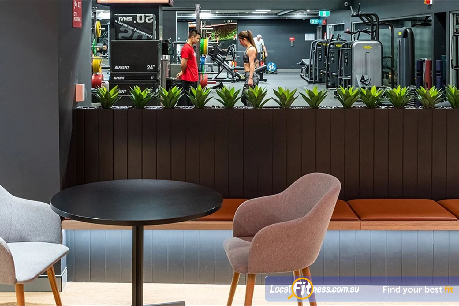 Fitness First Platinum Pitt St Sydney Our Sydney gym uses state of the art Technogym pin-loading machines.