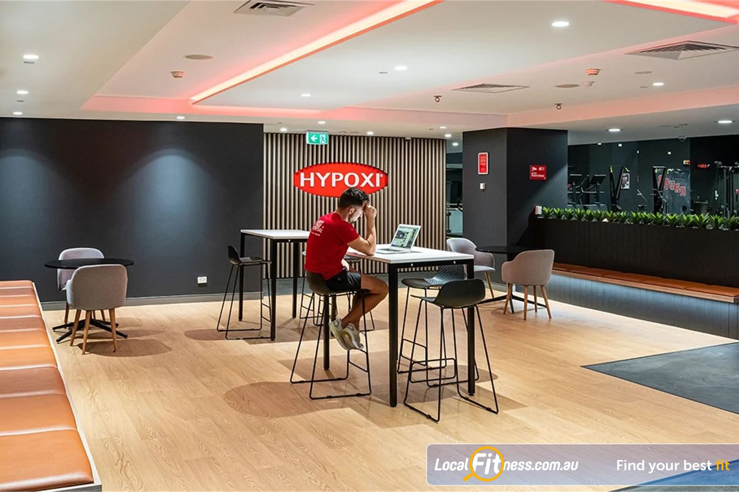 Fitness First Platinum Pitt St Sydney Relax in our exclusive members lounge.