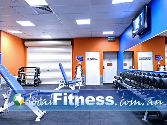 Plus Fitness 24/7 Near Englorie Park Free-weights training whenever you want 24 hours a day.