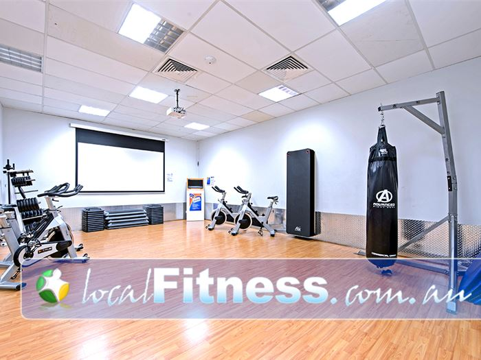 Plus Fitness 24/7 Near Ruse Our group fitness studio includes cycle bikes, stretching mats, boxing bags and more.