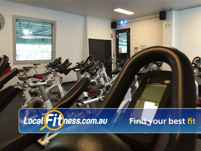 Don Tatnell Leisure Centre Gym Mentone  | Join our many classes including spin cycle.