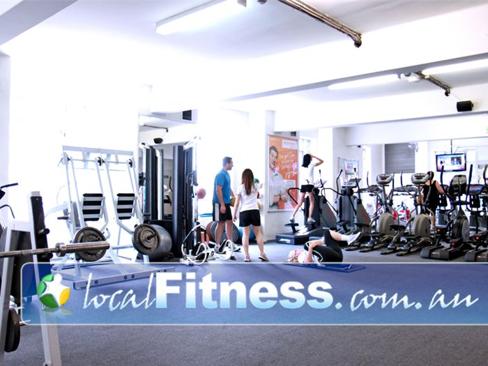 Regenesis Fitness Gym Potts Point  | Our spacious Edgecliff gym has plenty of natural