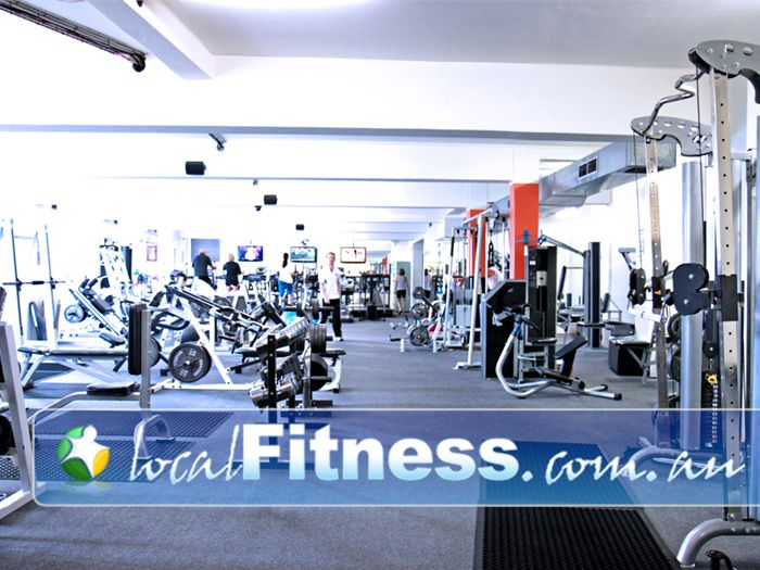 Regenesis Fitness 24 Hour Gym Kirribilli  | The unique training atmosphere in our Edgecliff gym.
