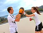 Regenesis Fitness Edgecliff Gym Fitness Rooftop training with beautiful