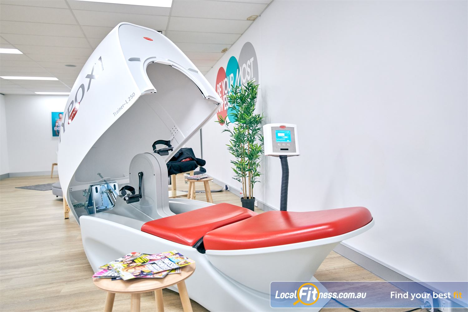 HYPOXI Weight Loss Near Clontarf The HYPOXI L250 is like a cycle machine from the future.