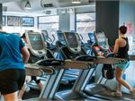 Fitness First Hillsdale Gym Fitness Rows of state of the art cardio
