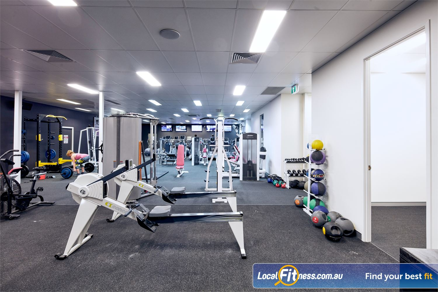 Fernwood Fitness Near Hillcrest The womens only cardio area in Fernwood Browns Plains gym.