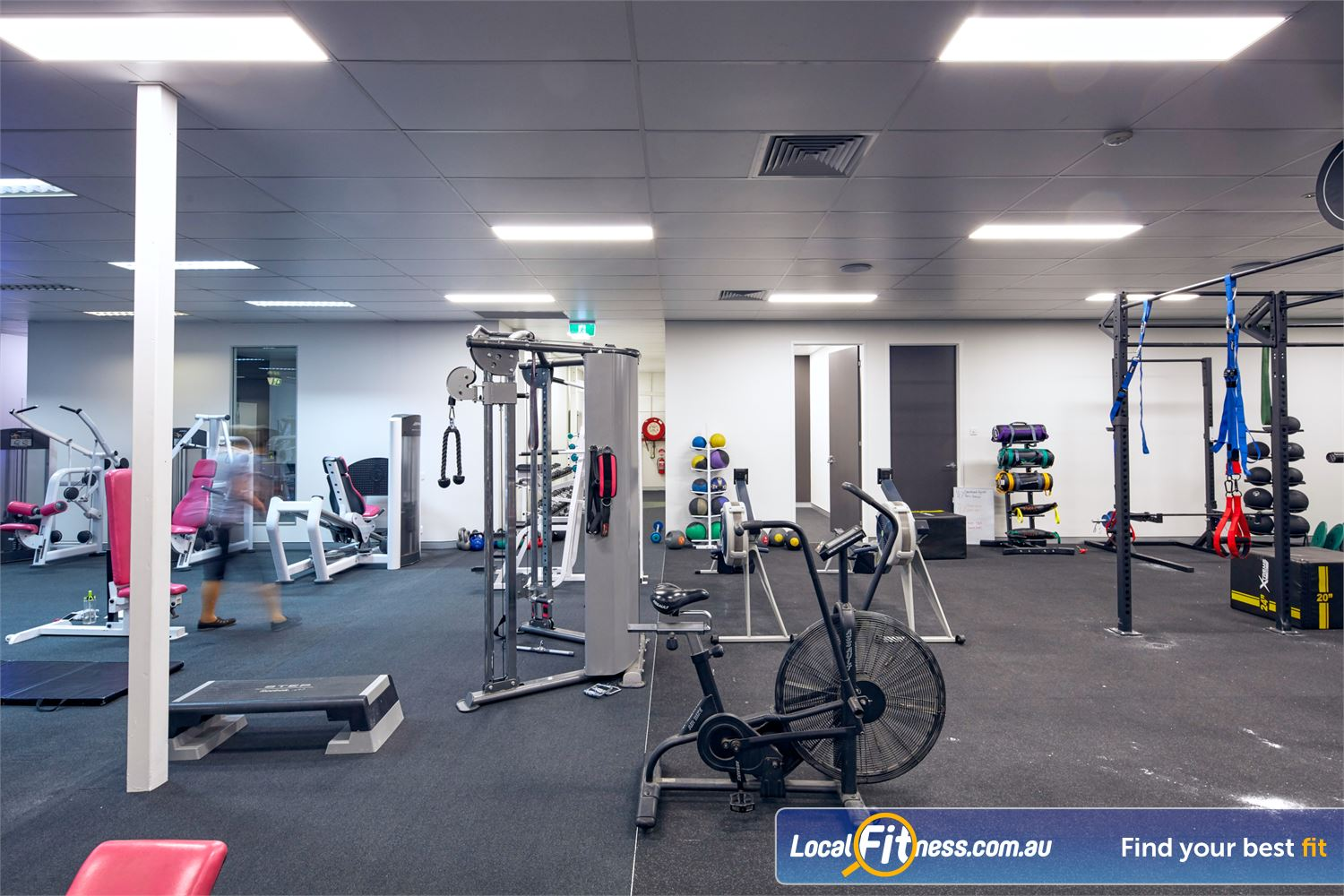Fernwood Fitness Browns Plains Our Browns Plains gym caters for womens strength training.