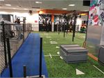 Fit n Fast Rouse Hill Gym Fitness Indoor sled track, astro-turf