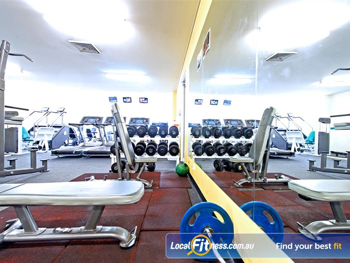 Bernie Mullane Sports Complex Gym Rouse Hill  | Welcome to our fully equipped Kellyville gym.