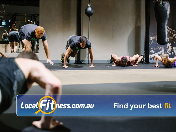 12 Round Fitness Newtown Near Stanmore Combining functional strength, cardio and boxing drills.