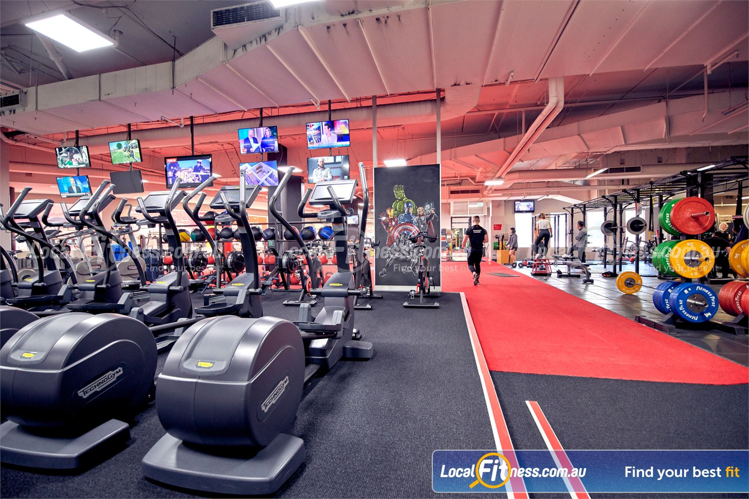 Fitness First Melbourne Central Platinum Melbourne Welcome to the Platinum Melbourne gym at Fitness First Melbourne Central.