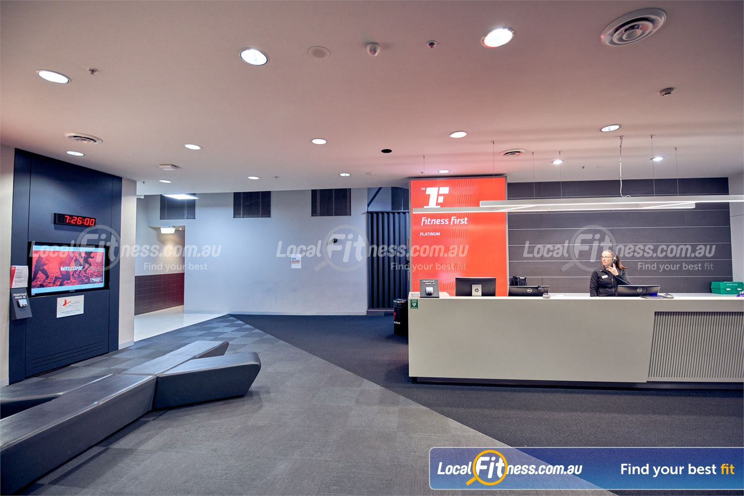 Fitness First Melbourne Central Platinum Near South Melbourne Our friendly team will welcome you to Fitness First Platinum Melbourne Central.