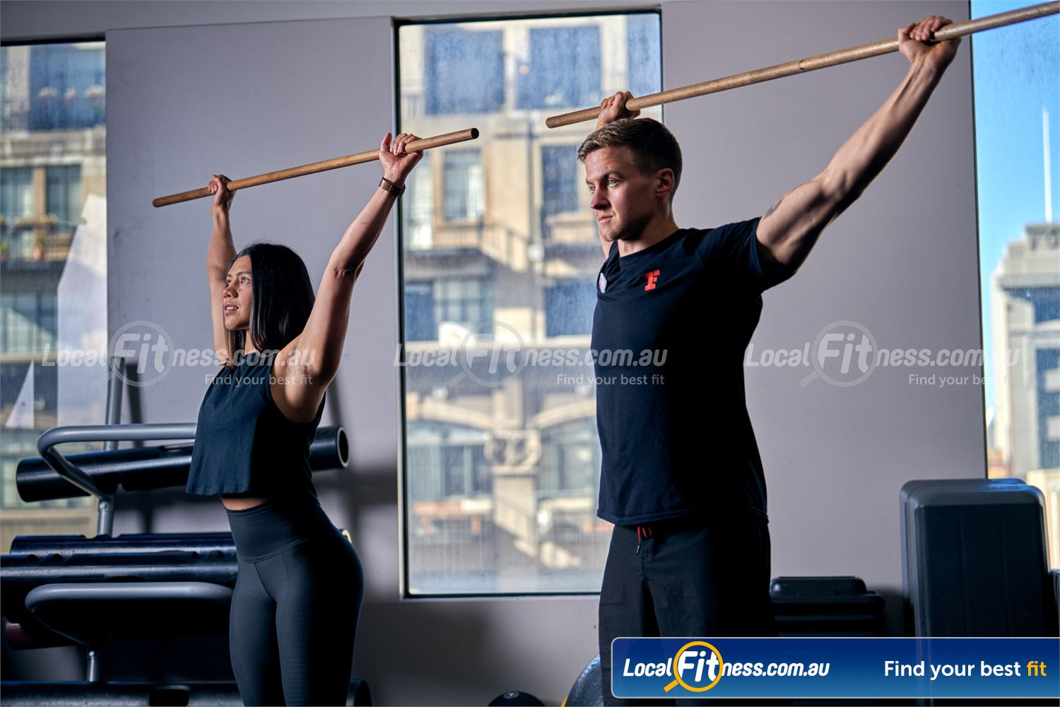 Fitness First Melbourne Central Platinum Melbourne Our Melbourne gym team can recommend a stretching routine.