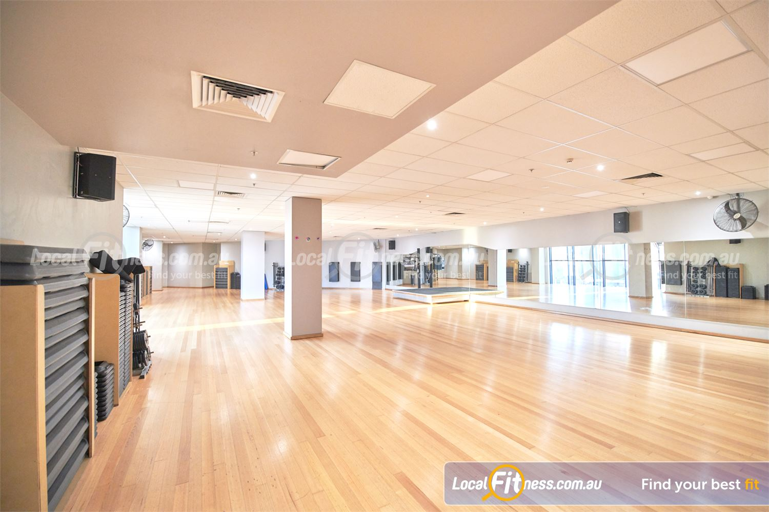 Fitness First Melbourne Central Platinum Melbourne Over 100 classes per week inc. Melbourne Zumba, Les Mills and more.