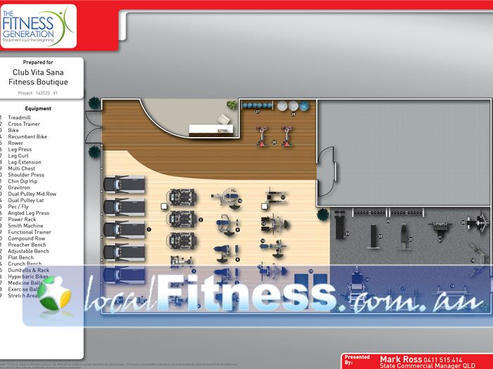 Club Vita Sana 24 Hour Gym Newstead  | The boutique and personal layout of our 24