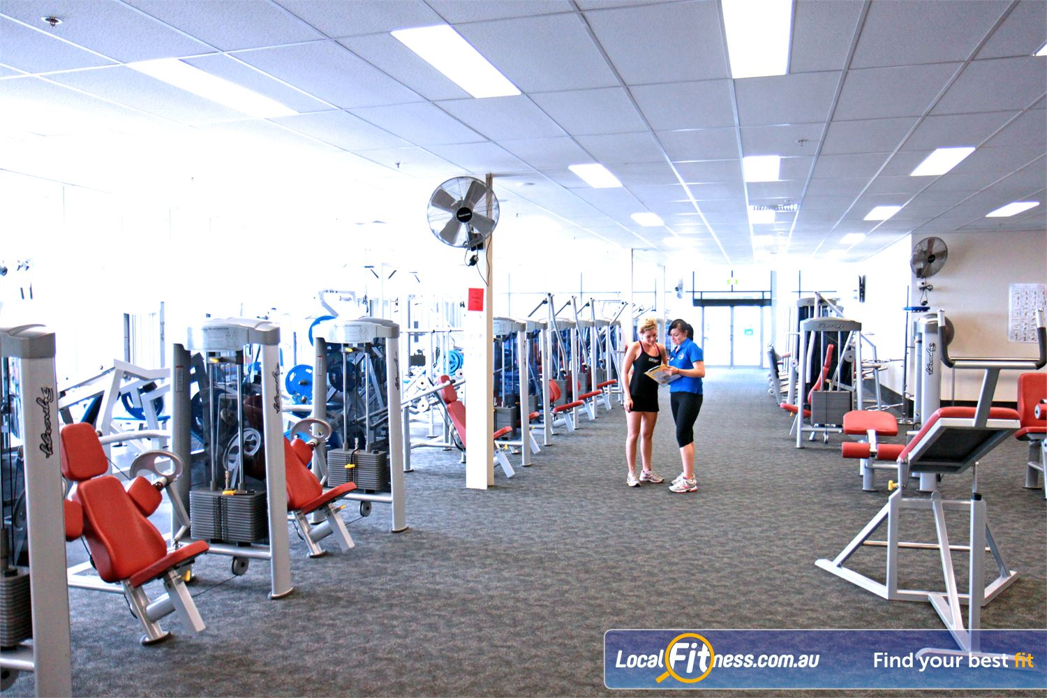 Goodlife Health Clubs Ipswich Our Ipswich gym provides 2300 sqm of fitness under one roof.