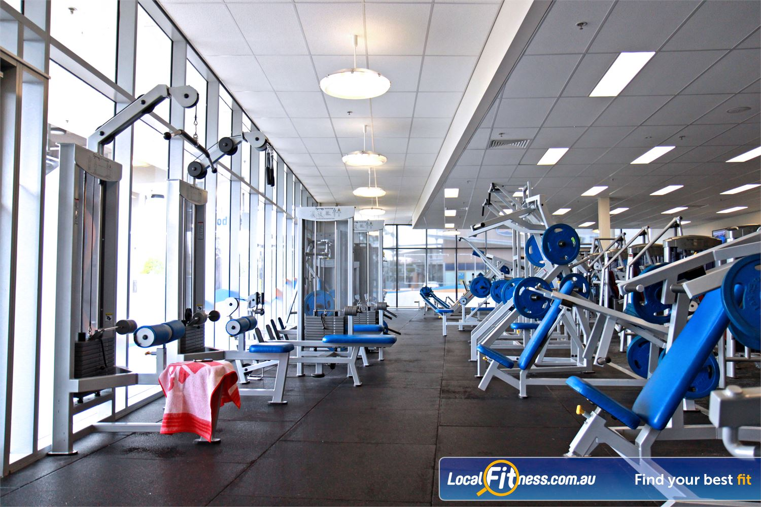 Goodlife Health Clubs Near West Ipswich At our Ipswich gym, pick from a large selection of plate-loading machines and free-weights.