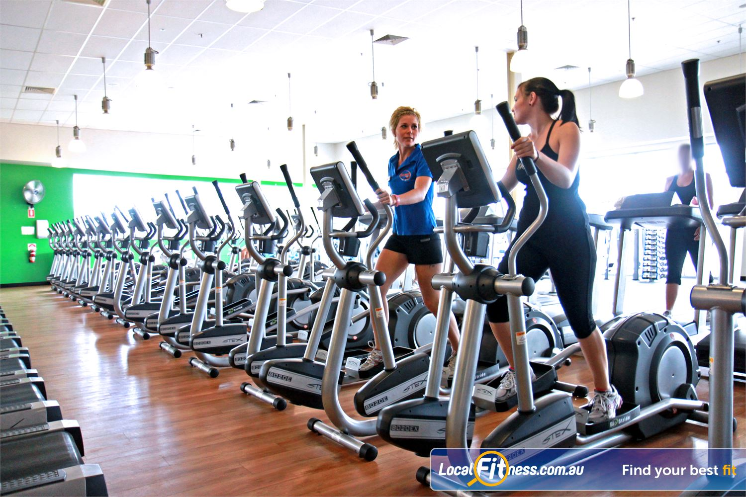 Goodlife Health Clubs Ipswich Goodlife Ipswich gym provides multiple machines so you don't have to wait.