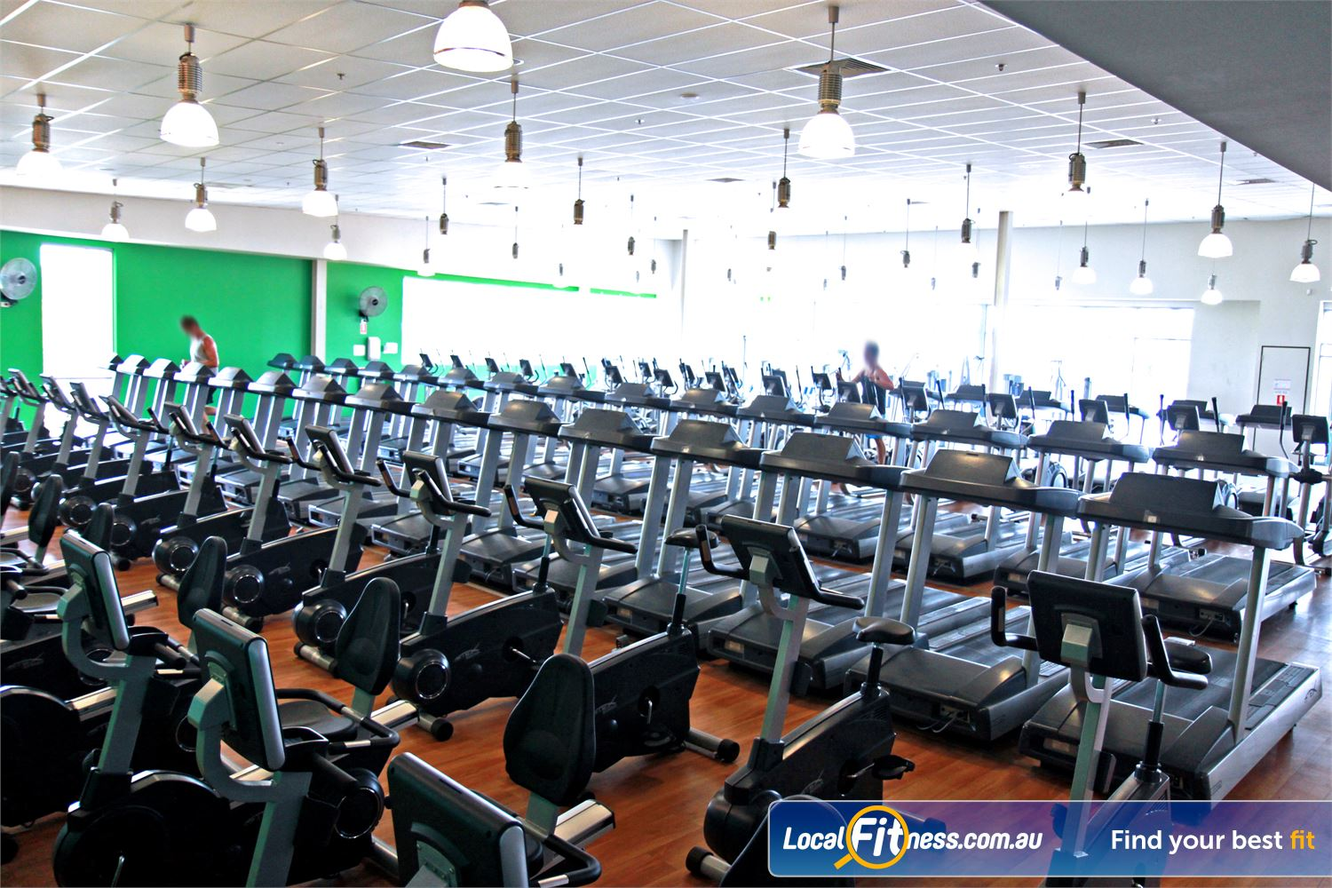 Goodlife Health Clubs Ipswich Our Ipswich gym includes 120 pieces of state-of-the-art cardio equipment.