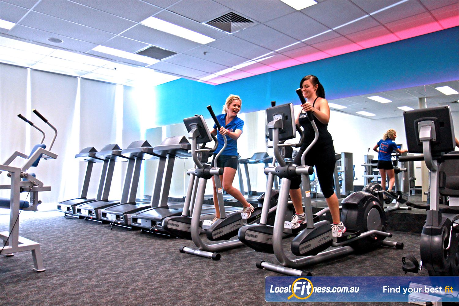 Goodlife Health Clubs Near Newtown The private and uninterrupted Ipswich ladies gym.