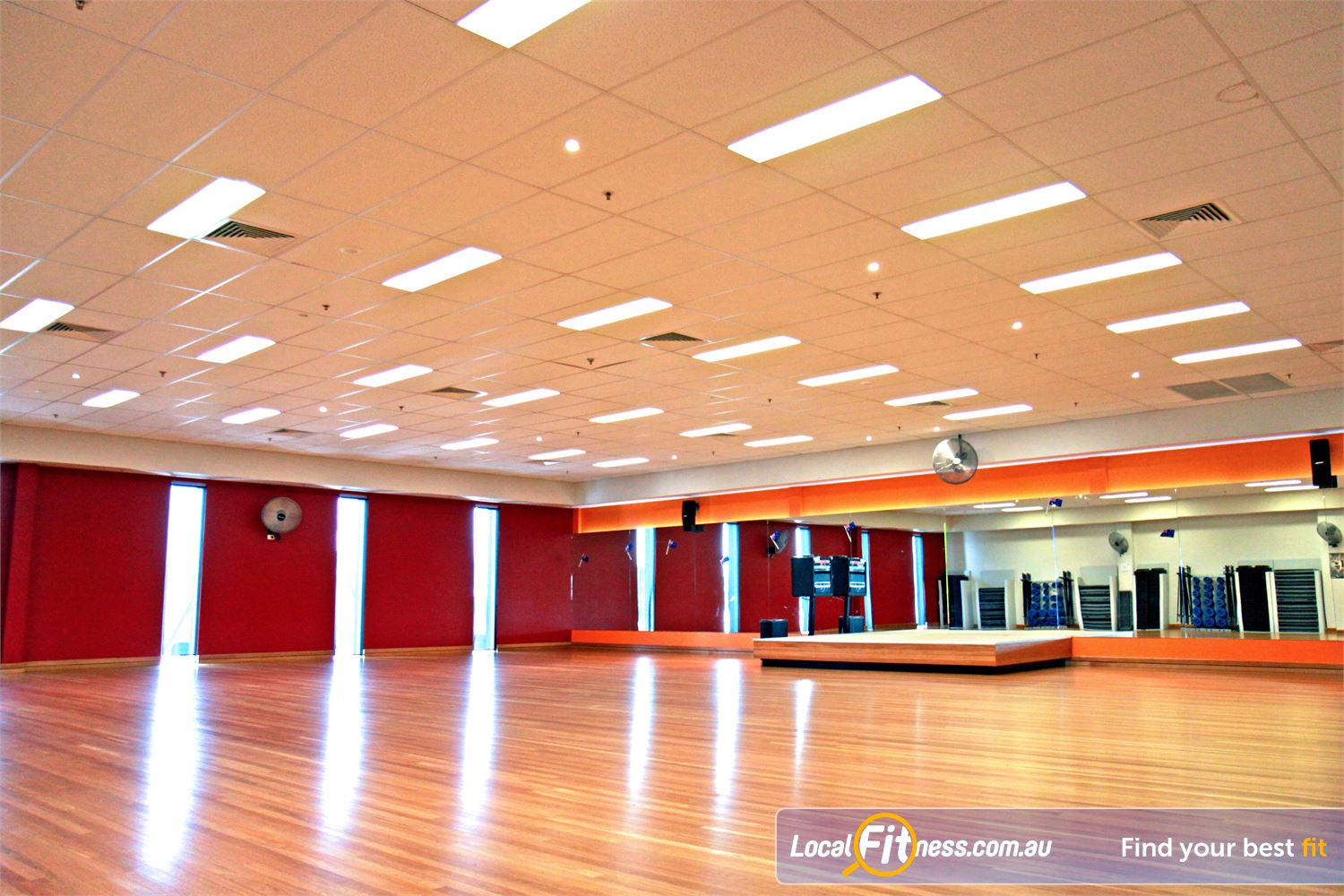 Goodlife Health Clubs Near West Ipswich Ipswich group fitness classes run daily.
