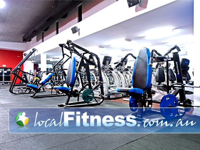 Genesis Fitness Clubs Gym Charlestown  | Heavy duty plate loading strength training machines.