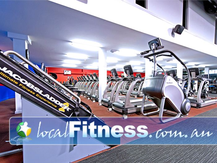 Genesis Fitness Clubs Mayfield Try an intense cardio workout with Jacobs Ladder.