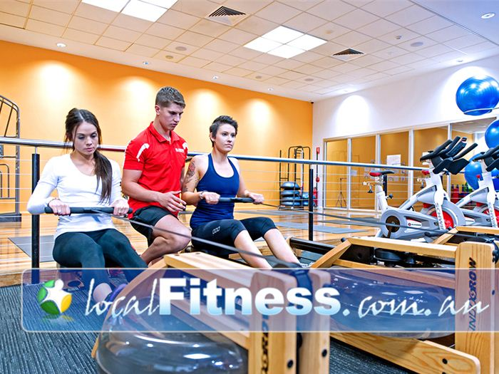 Genesis Fitness Clubs Near Warabrook Vary your cardio workout with rowing.