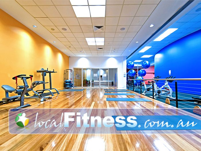 Genesis Fitness Clubs Near Warabrook Fully equipped with fit balls, medicine balls, stretching mats and more.
