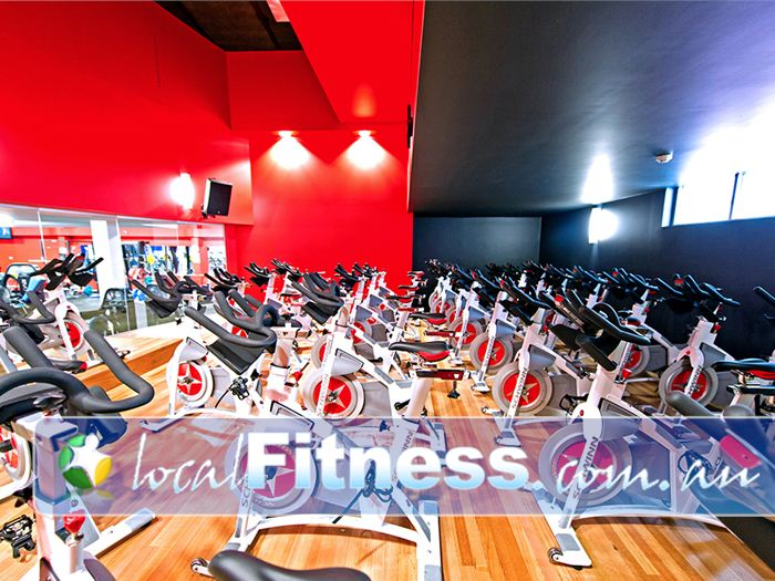 Genesis Fitness Clubs Mayfield The state of the art Genesis Mayfield cycle studio.