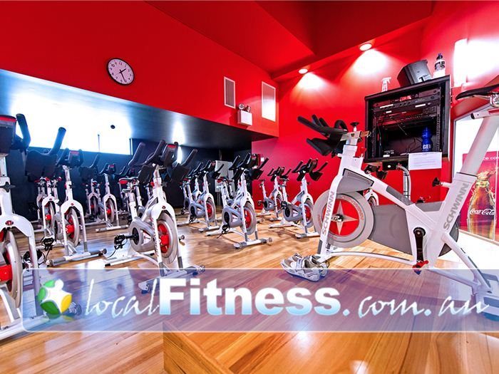 Genesis Fitness Clubs Mayfield Cycle classes run daily at Genesis Mayfield.