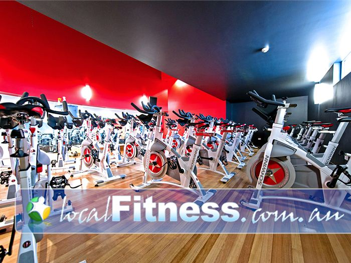 Genesis Fitness Clubs Near Callaghan Our Mayfield cycle studio provides state of the art Schwinn cycle bikes.