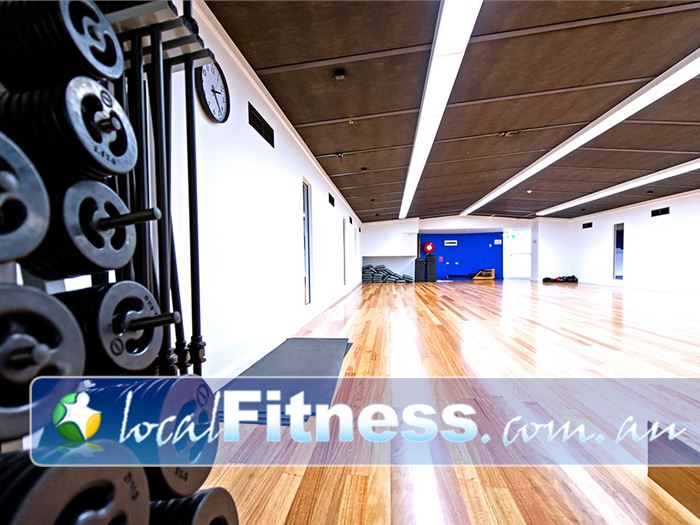 Genesis Fitness Clubs Mayfield Popular group classes include high energy freestyle classes.